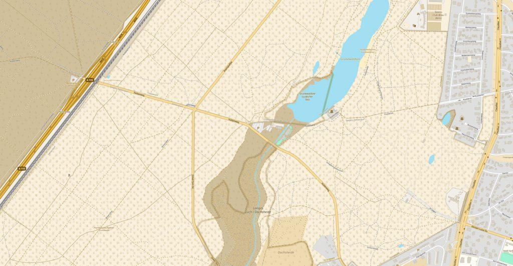 Unser Einzugsgebiet ist das Hundeauslaufgebiet Grunewald